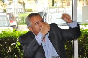 El político venezolano Pablo Medina. Foto: José Carucí