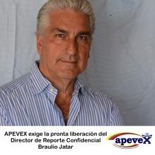 APEVEX evige la pronta liberación de Braulio Jatar